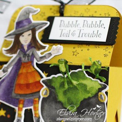 Aus dem Hexenkessel-Halloween-Cauldron Bubble-Stampin Up