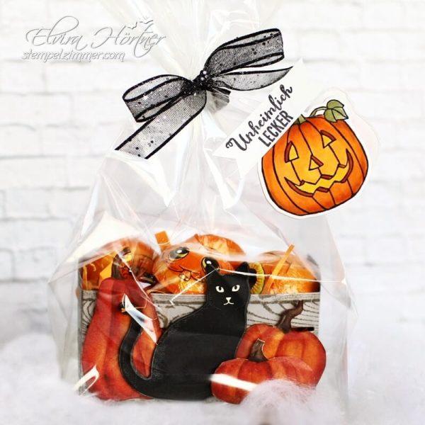 Holzkiste mit Kuerbis-Halloween-Verpackung-Unheimlich lecker-Stampin' Up-Stempelzimmer