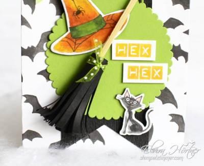 Hexenbesen-Halloween-Wie verhext-Designerpapier-Stampin' Up!-Stempelzimmer