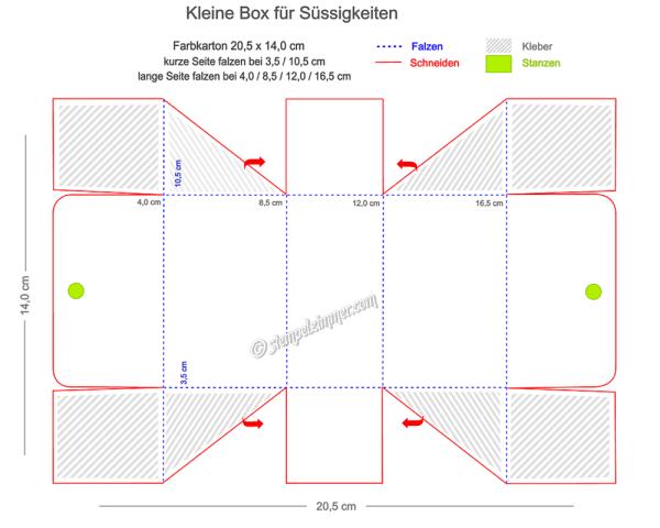 Anleitung Box mit seitlicher diagonaler Falzung-Elviras Stempelzimmer-Stampin Up-Blog-Oesterreich