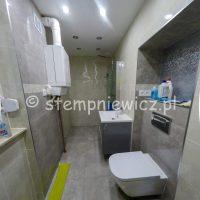 łazienka z odpływem liniowym stempniewicz