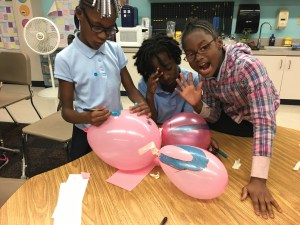 Balloon animal engineering design challenge
