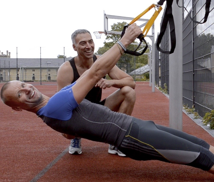 Sten und Mike TRX Personal Training