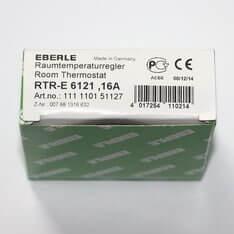 EBERLE RTR-E 6121 терморегулятор з датчиком повітря механічний