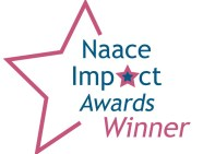 Naace Impact awards Winner, reduced (transparent background)