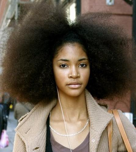 How To Turn An Afro Into Straight Hair