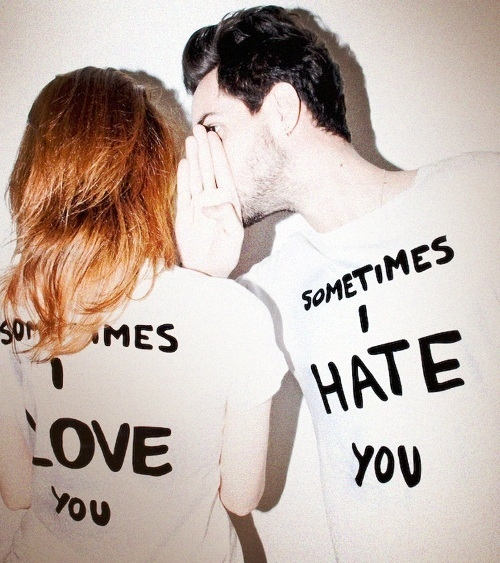 Image result for love/hate relationship