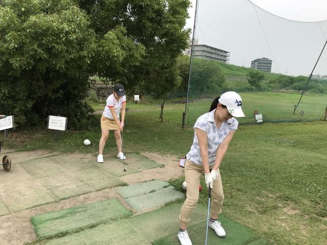 ラウンドレッスン大阪、淀川ゴルフ