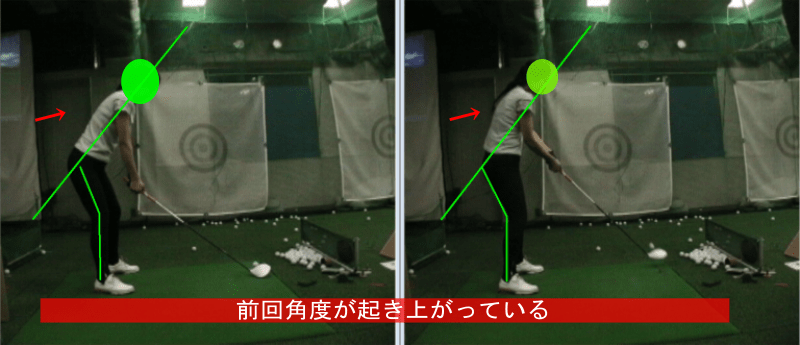 ゴルフでトップする原因6