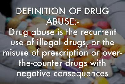 Drug Abuse Definition