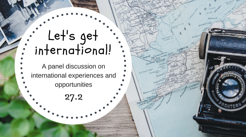 Let's get International panel conversation 27.2.2018