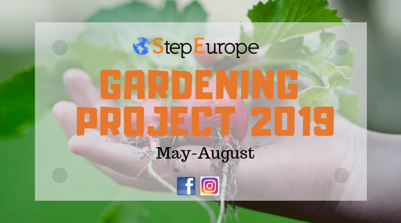 Gardening project 2019 May-August
