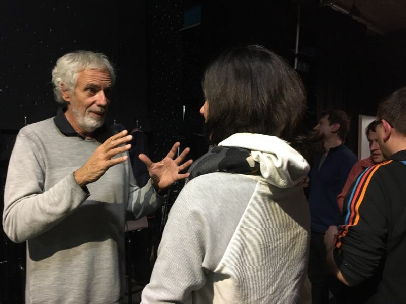 Diskussion im Studion