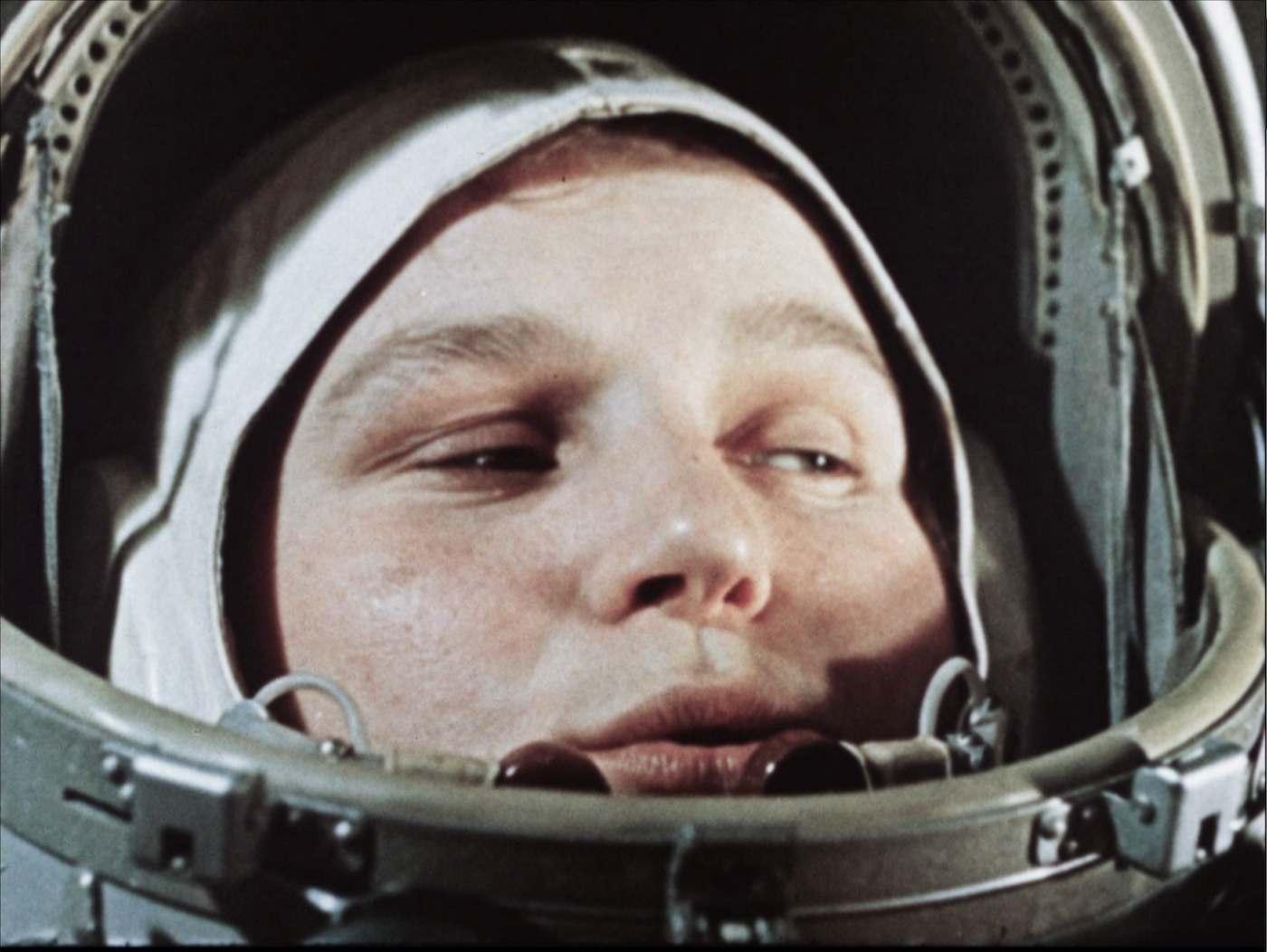 Valentina Tereschkowa vor ihrem Start