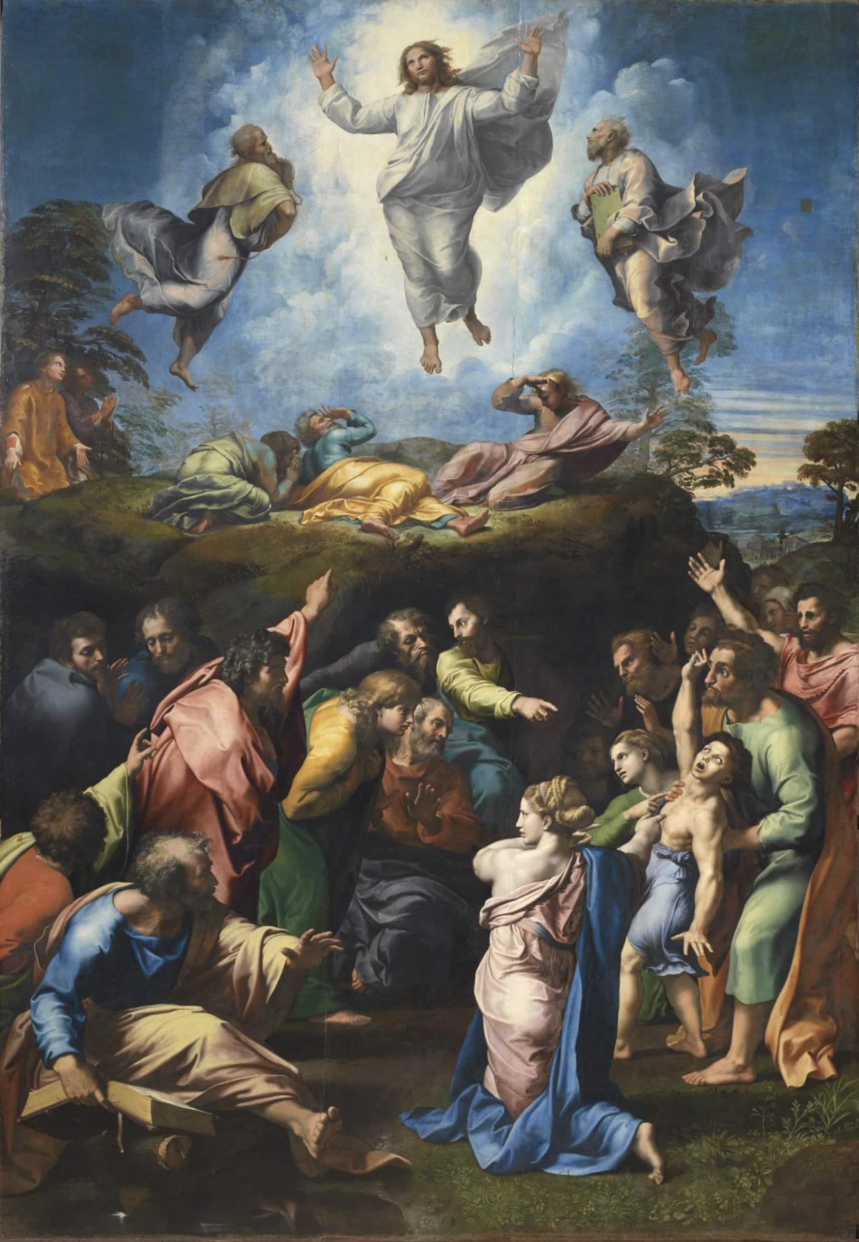 Raffael Die Verklärung Christi - Dokumentarfilm über Leben und Werk des Renaissancekünstlers Raffael