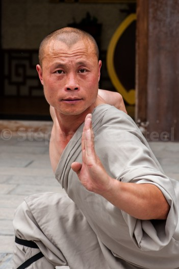 Technique de Kung fu Shaolin par Youli Quan - Dengfeng