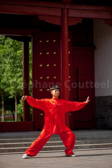 Tai chi au monastère Chenjiagu