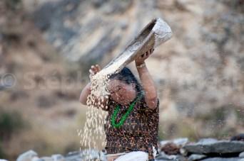 Teint éclatant vent debout - Tarakot - Dolpo