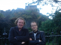 with Connesson, Edinburgh 2005