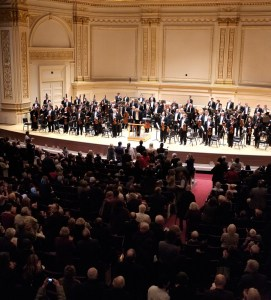 BSO and Denève at Carnegie Hall, New York