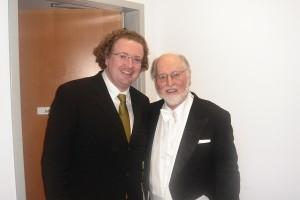 Stéphane's first encounter with John Williams, Walt Disney Hall, L.A.