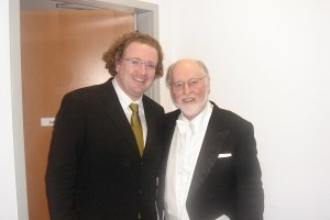Stéphane's first encounter with John Williams, Walt Disney Hall, L.A.
