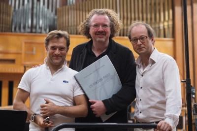 Renaud Capuçon, Stéphane & Guillaume Connesson  in Gewandhaus, Vienna