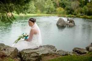 Un mariage frisquet et humide