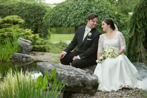 Un mariage solennel dans un cadre magique