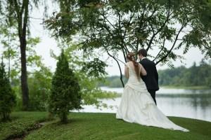 Mariage d'amour à la maison Trestler