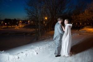 Un très beau mariage d'hiver au coeur même de Lanaudière