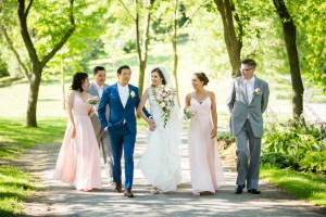 Mariage inoubliable au centre de la Nature de Laval