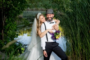 Photos de mariage à Longueuil au parc Michel-Chartrand par Stéphane Lemieux photographe de mariage