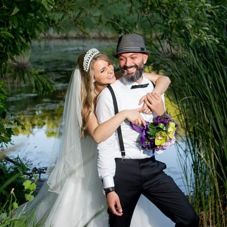 Photos de mariage à Longueuil au parc Michel-Chartrand