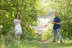 Séance fiançailles au Parc-nature de l'Île-de-la-Visitation par Stéphane Lemieux Photographe