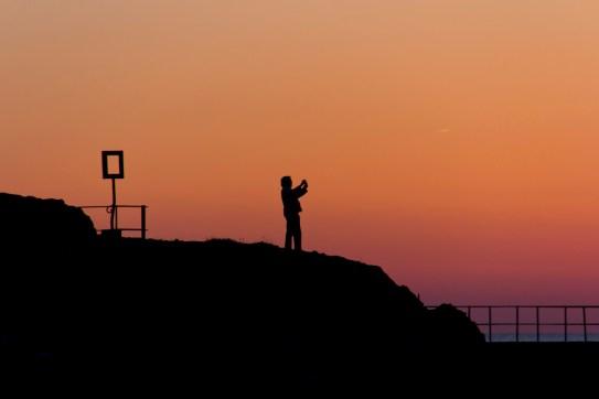 Pêcheur d'images à Collioure
