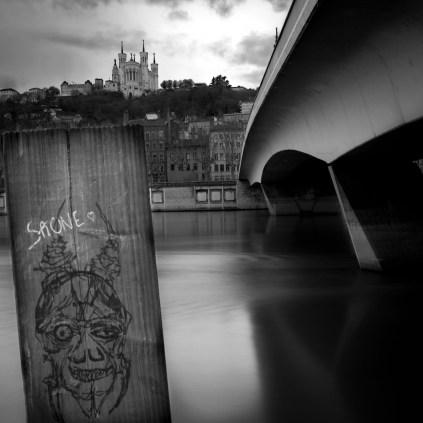 06-Lyon quai St Antoine. Dir ouest.