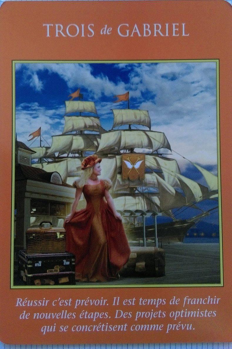3 de Gabriel - Tarot des Archanges - Doreen Virtue
