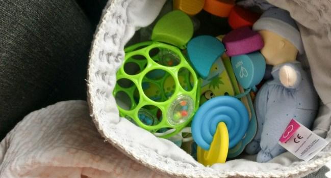 Toy rotation bij een baby – baby week 17