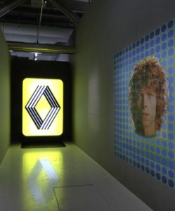 Logo Renault Vasarely Exposition