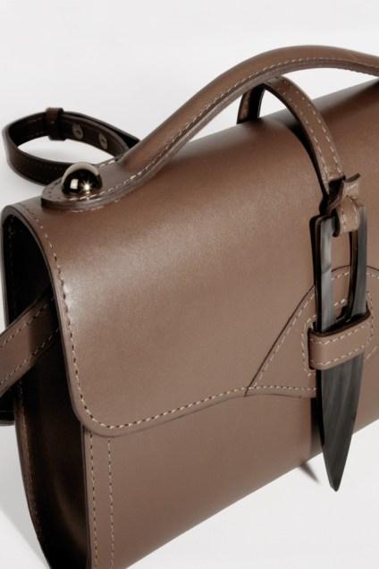 Designer leather handbag made in France