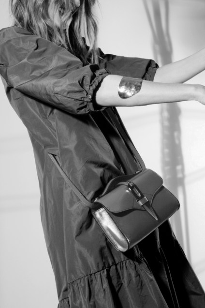 Sac Bandoulière Cesaire paris Designer leather handbag made in France