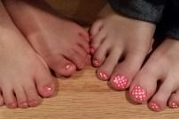 Ella and Hannah - Pink!