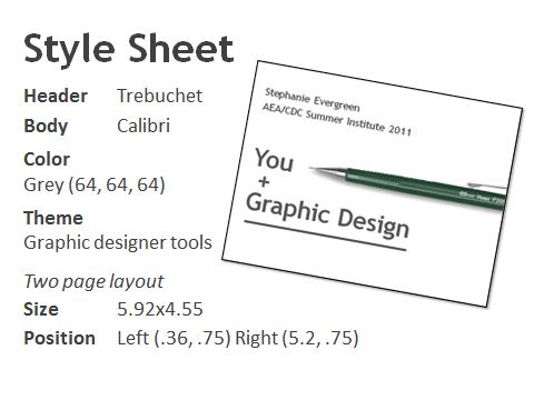 organize your reporting with a style sheet template evergreen data