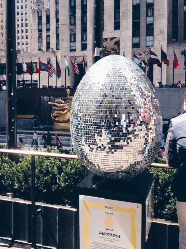 Rockefeller egg hunt
