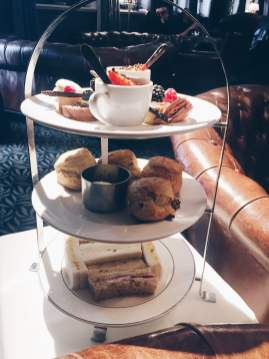 Afternoon tea at The Vermont, Newcastle