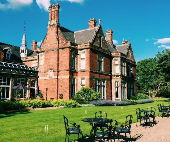 Rockliffe Hall in the sun