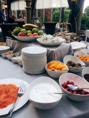 Dried fruit at breakfast - The Orangerie restaurant - Rockliffe Hall