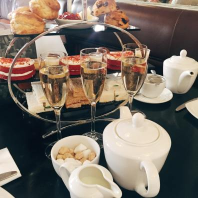 Afternoon tea at Brown's, Newcastle