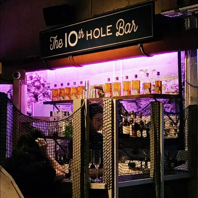 Swingers Crazy Golf bar